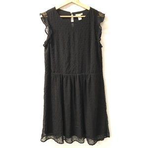 H&M Sz 12 little Black Dress